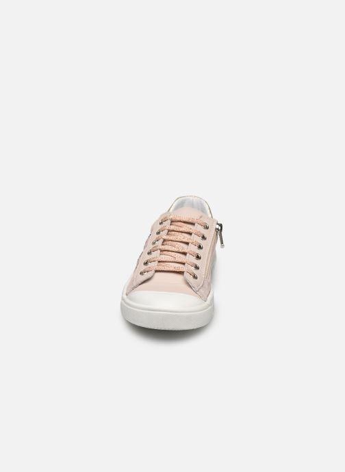 Baskets Bopy Scandale Rose vue portées chaussures