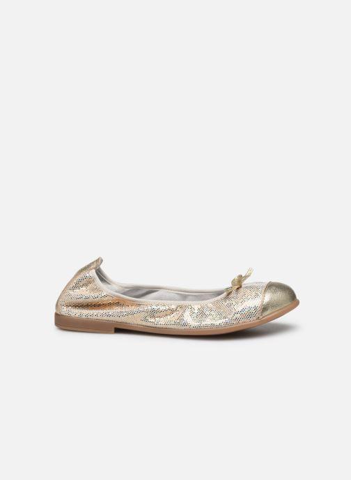 Bailarinas Bopy School Oro y bronce vistra trasera