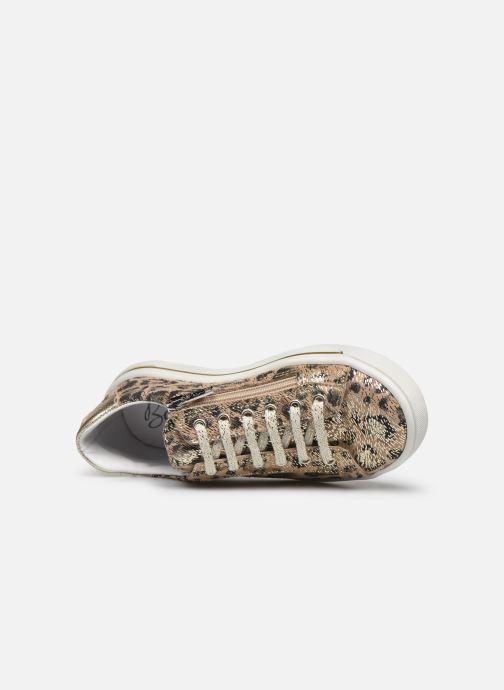 Sneakers Bopy Scoop Oro e bronzo immagine sinistra