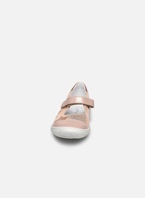 Ballerines Bopy Selene Rose vue portées chaussures