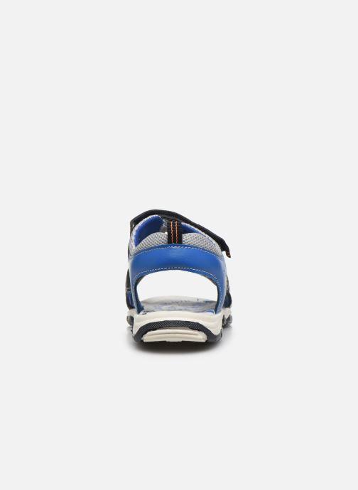 Sandales et nu-pieds Bopy Taxeo Bleu vue droite