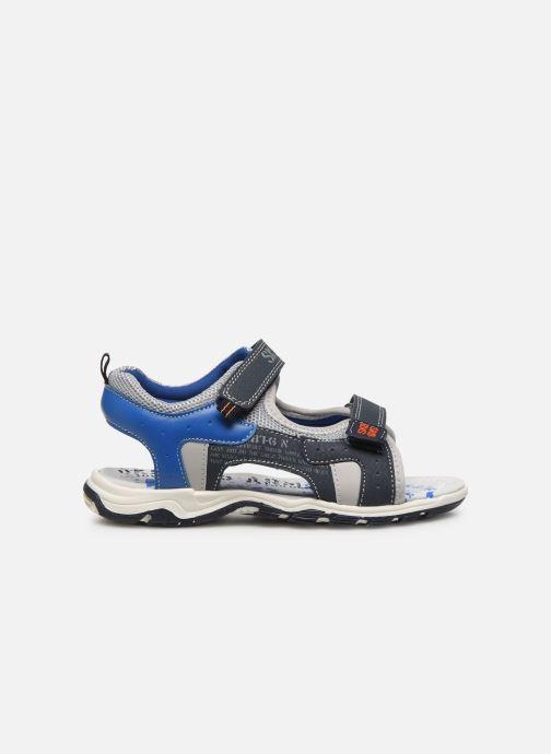 Sandales et nu-pieds Bopy Taxeo Bleu vue derrière