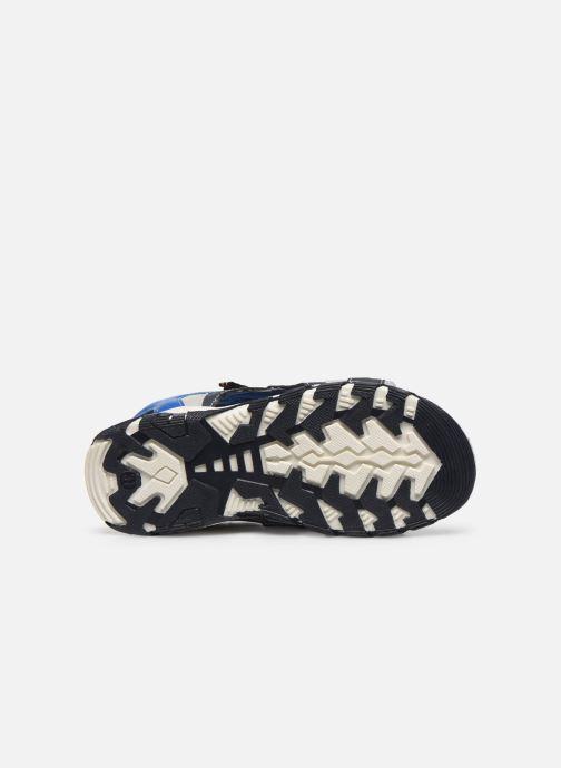 Sandales et nu-pieds Bopy Taxeo Bleu vue haut