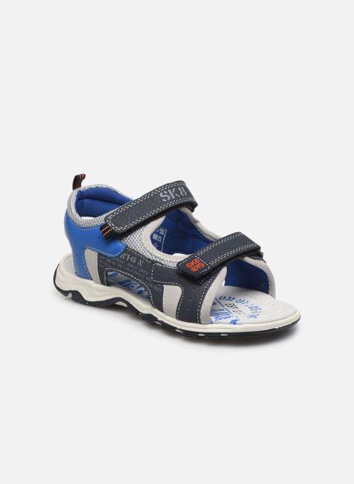 Sandales et nu-pieds Bopy Taxeo Bleu vue détail/paire