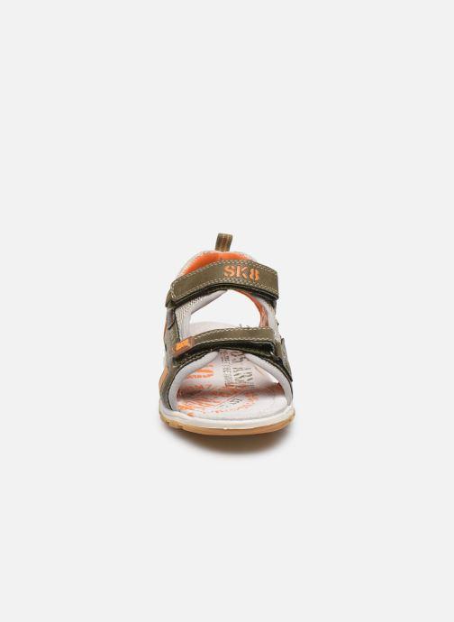 Sandales et nu-pieds Bopy Taxeo Vert vue portées chaussures