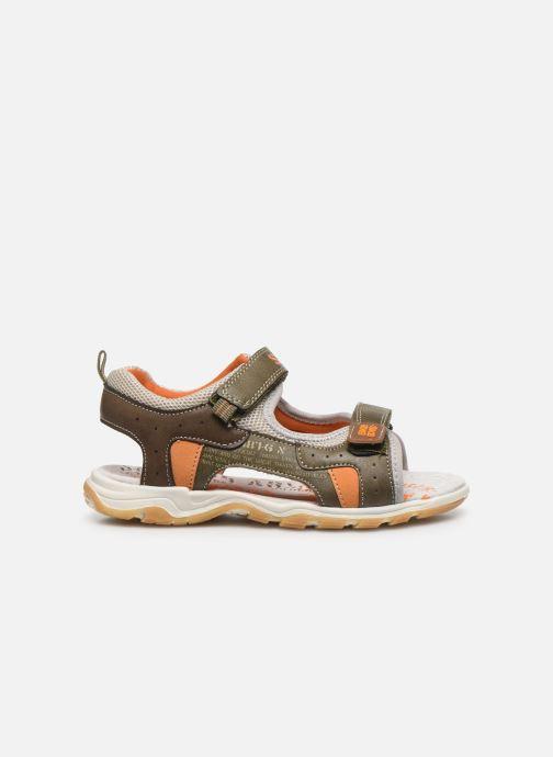 Sandales et nu-pieds Bopy Taxeo Vert vue derrière