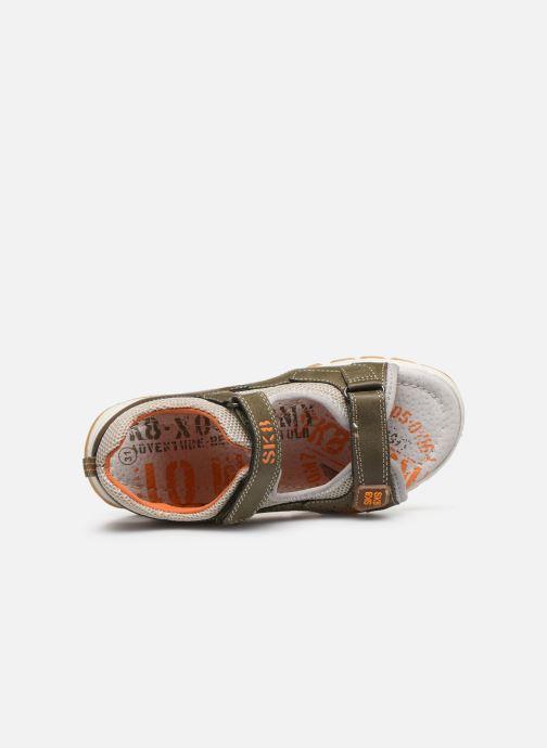 Sandales et nu-pieds Bopy Taxeo Vert vue gauche