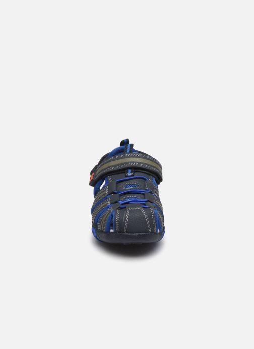 Sandalias Bopy Tiaoul Azul vista del modelo