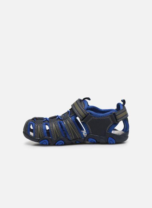 Sandalias Bopy Tiaoul Azul vista de frente