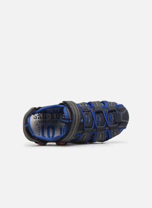 Sandalen Bopy Tiaoul Blauw links
