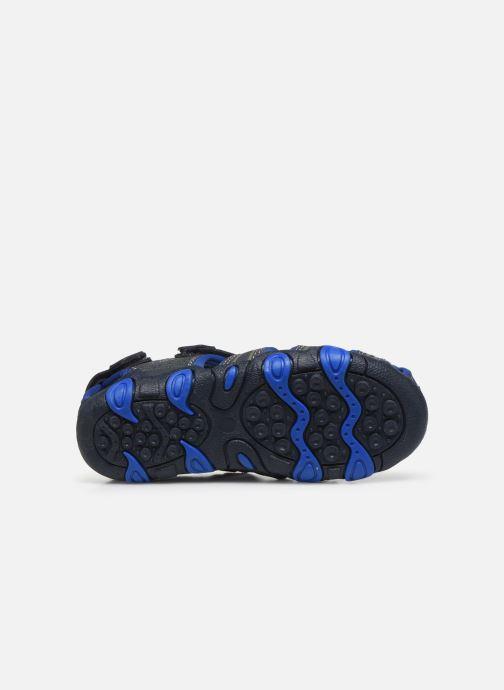 Sandalias Bopy Tiaoul Azul vista de arriba