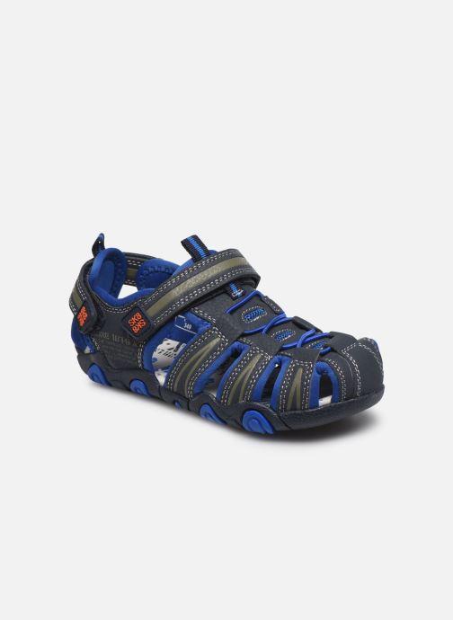 Sandales et nu-pieds Bopy Tiaoul Bleu vue détail/paire