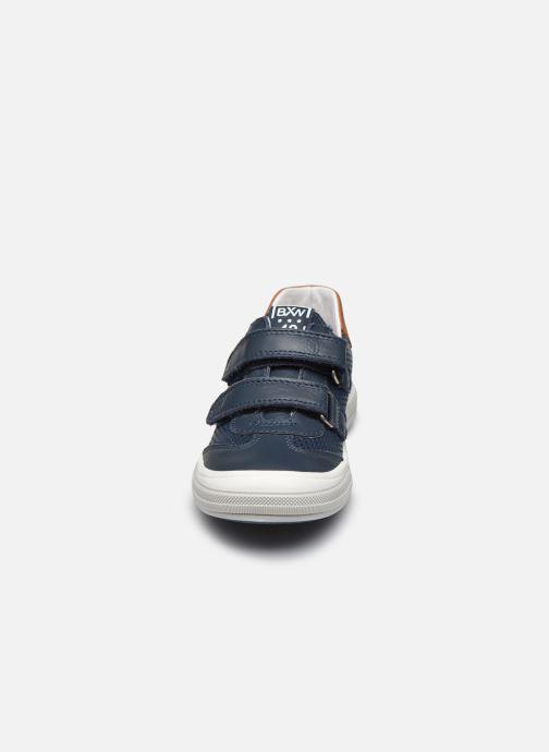 Baskets Bopy Vacarme Bleu vue portées chaussures