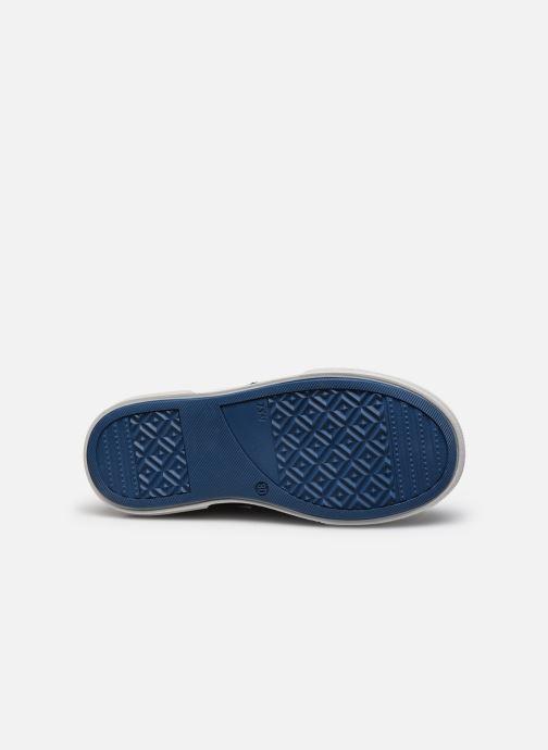 Baskets Bopy Vacarme Bleu vue haut