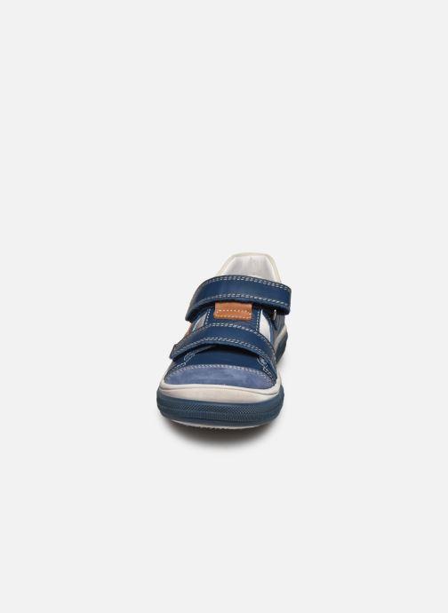 Baskets Bopy Valdom Bleu vue portées chaussures