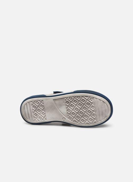 Baskets Bopy Valdom Bleu vue haut