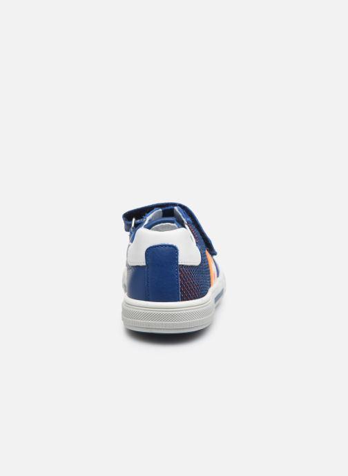 Baskets Bopy Vaudou Bleu vue droite