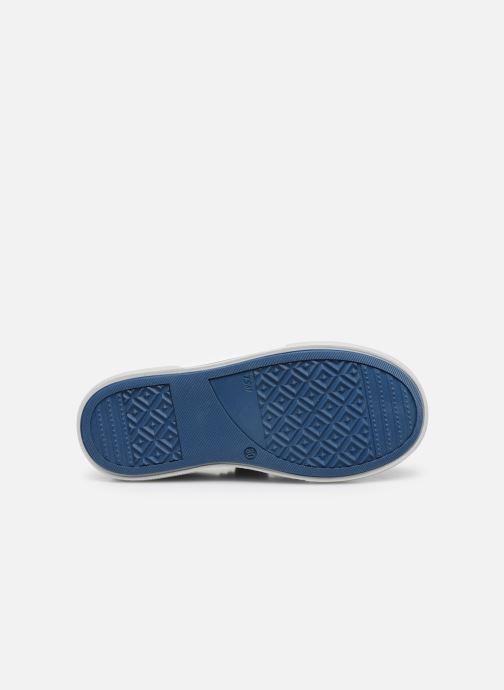Baskets Bopy Vaudou Bleu vue haut