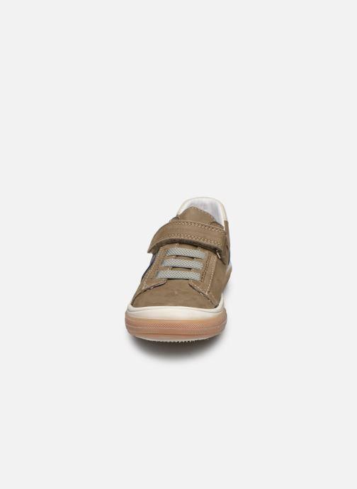 Baskets Bopy Verso Beige vue portées chaussures