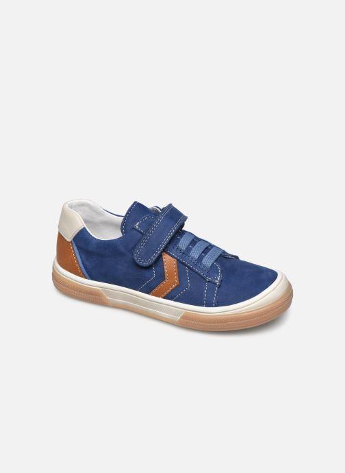 Baskets Bopy Verso Bleu vue détail/paire