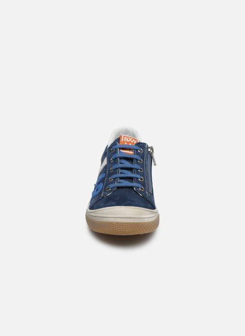 Baskets Bopy Vicomte Bleu vue portées chaussures