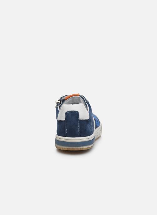 Baskets Bopy Vicomte Bleu vue droite