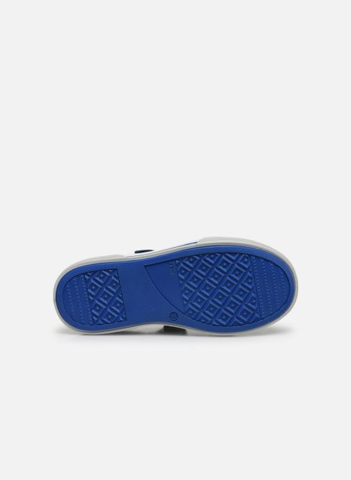 Baskets Bopy Voger Bleu vue haut