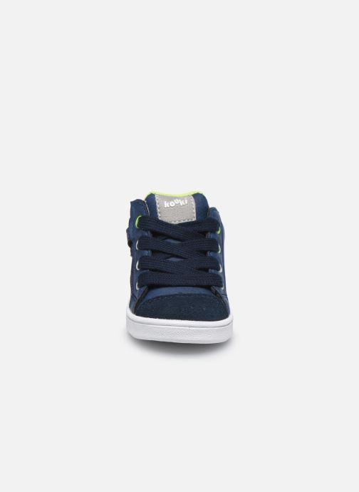 Bottines et boots Bopy Xetoile Bleu vue portées chaussures