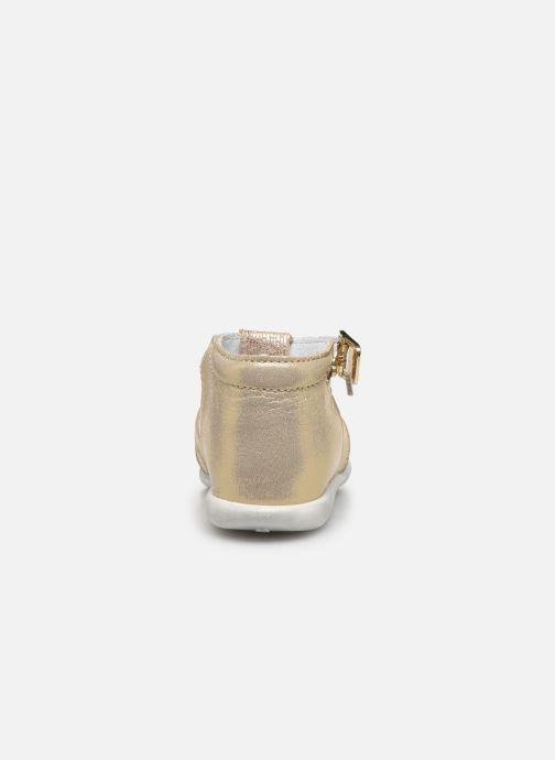 Sandali e scarpe aperte Bopy Zani Oro e bronzo immagine destra
