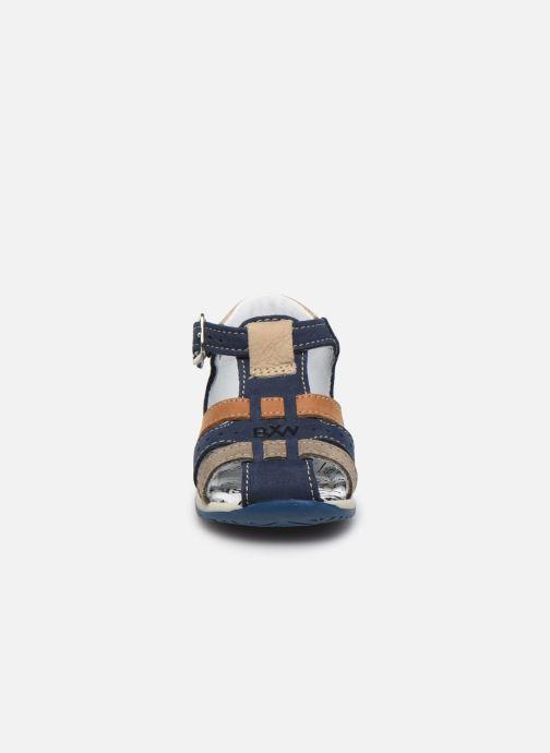 Sandali e scarpe aperte Bopy Zigoto Azzurro modello indossato