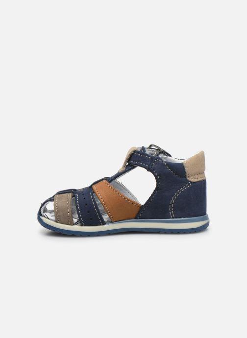 Sandali e scarpe aperte Bopy Zigoto Azzurro immagine frontale