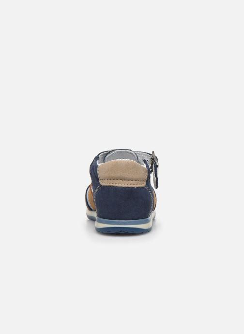Sandali e scarpe aperte Bopy Zigoto Azzurro immagine destra