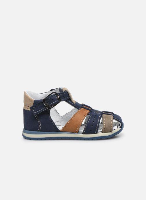 Sandali e scarpe aperte Bopy Zigoto Azzurro immagine posteriore
