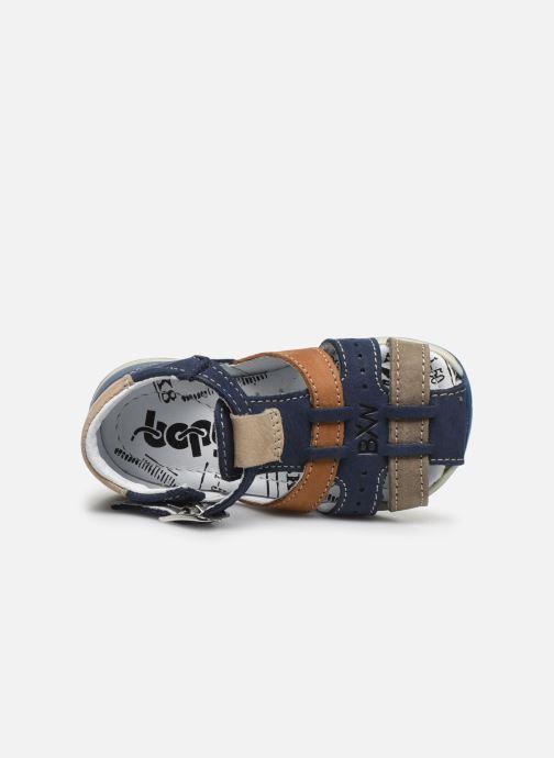 Sandali e scarpe aperte Bopy Zigoto Azzurro immagine sinistra