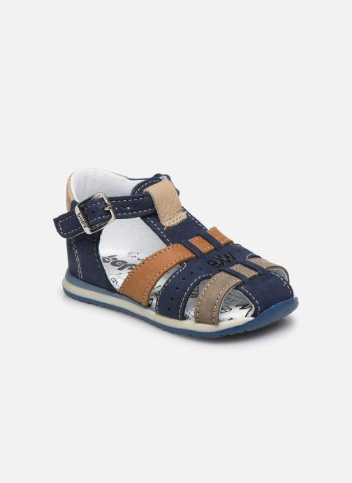 Sandali e scarpe aperte Bopy Zigoto Azzurro vedi dettaglio/paio