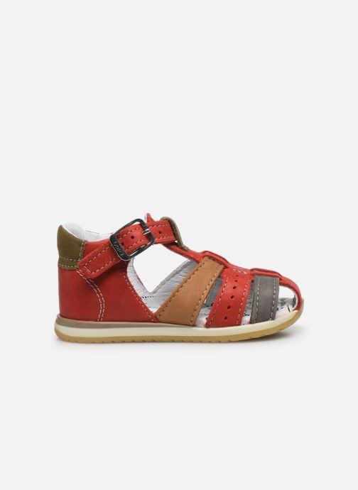 Sandali e scarpe aperte Bopy Zigoto Rosso immagine posteriore