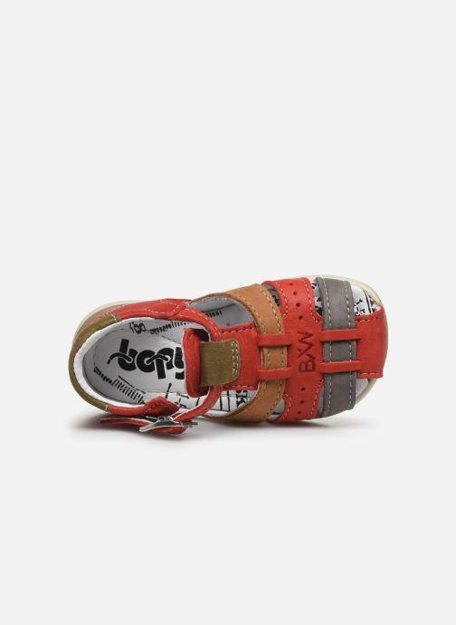 Sandali e scarpe aperte Bopy Zigoto Rosso immagine sinistra