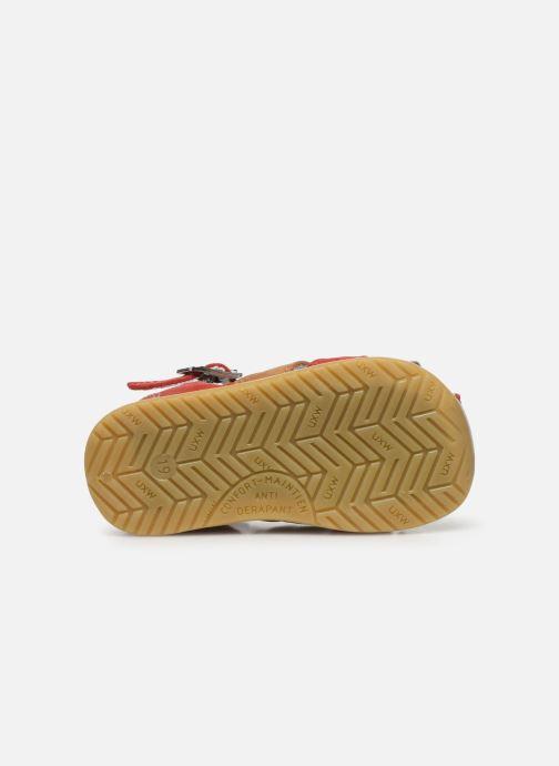 Sandali e scarpe aperte Bopy Zigoto Rosso immagine dall'alto