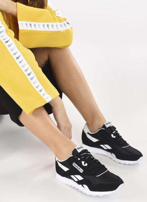 Sneakers Reebok Cl Nylon W Nero immagine dal basso