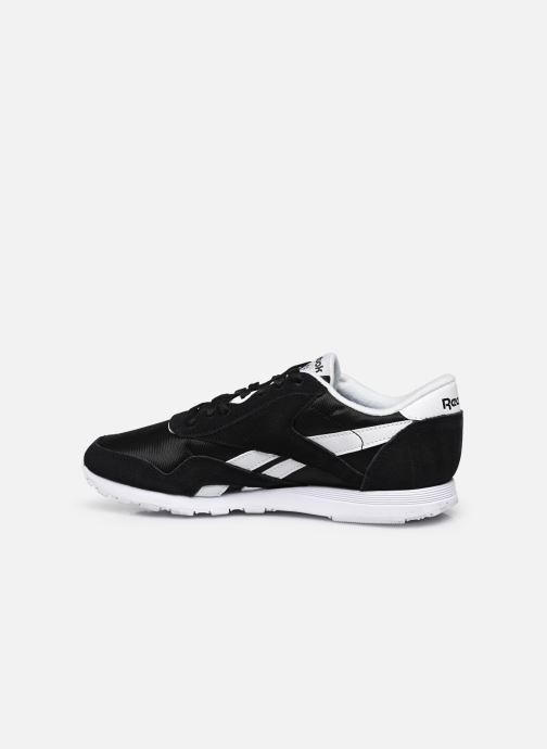 Sneaker Reebok Cl Nylon W schwarz ansicht von vorne