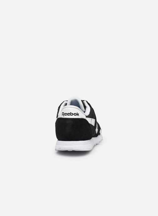 Sneaker Reebok Cl Nylon W schwarz ansicht von rechts