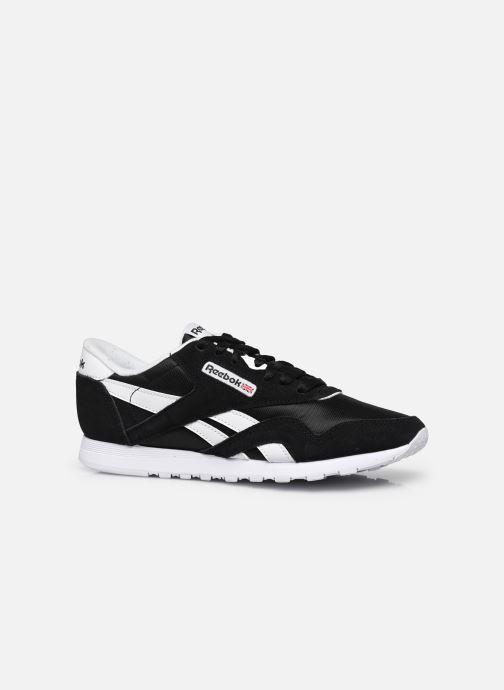 Sneaker Reebok Cl Nylon W schwarz ansicht von hinten