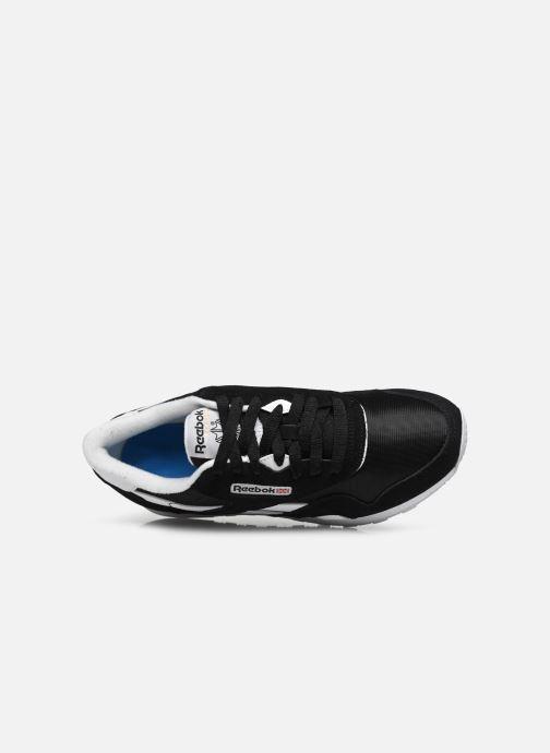 Sneaker Reebok Cl Nylon W schwarz ansicht von links