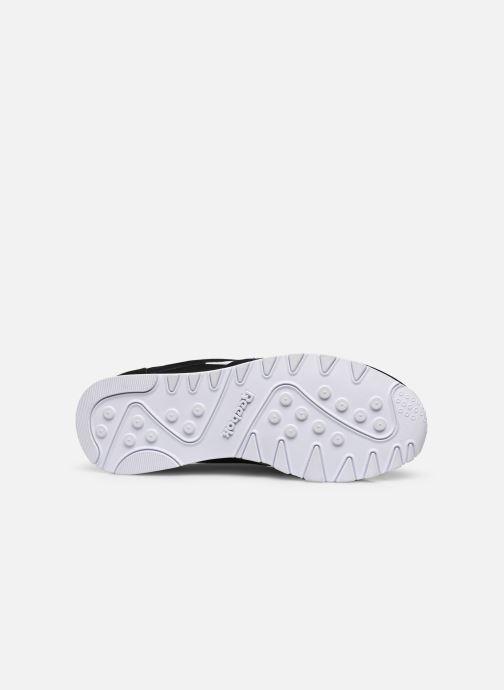 Sneaker Reebok Cl Nylon W schwarz ansicht von oben