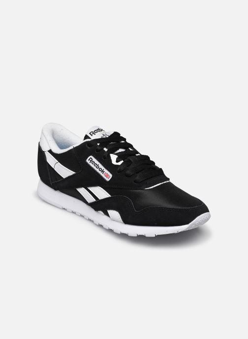 Sneaker Reebok Cl Nylon W schwarz detaillierte ansicht/modell