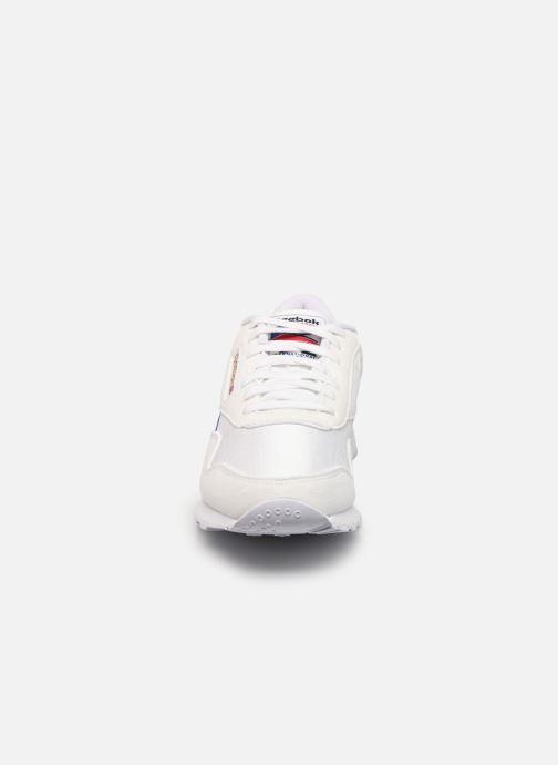 Sneaker Reebok Cl Nylon W weiß schuhe getragen