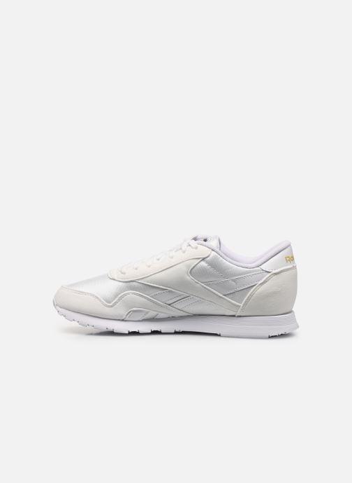 Sneakers Reebok Cl Nylon W Bianco immagine frontale