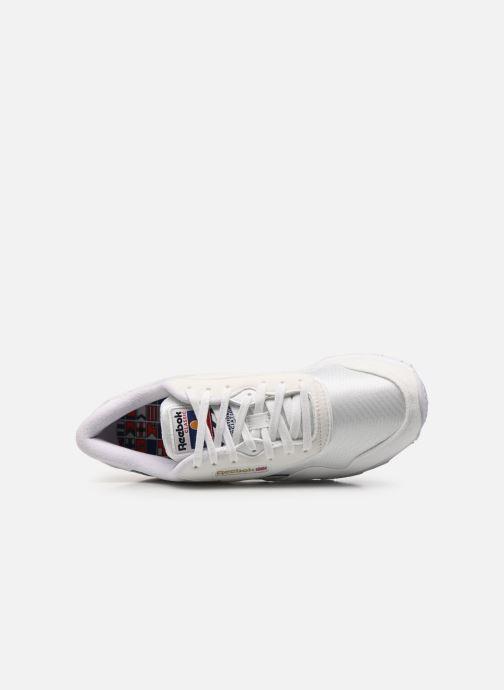 Sneaker Reebok Cl Nylon W weiß ansicht von links