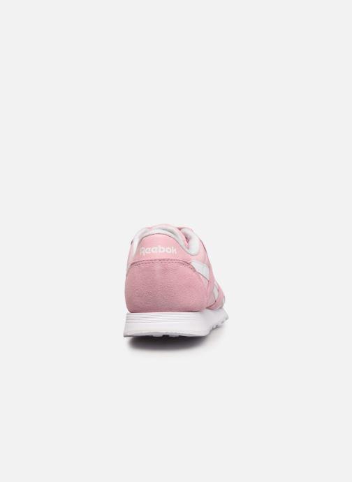 Sneakers Reebok Cl Nylon W Rosa immagine destra