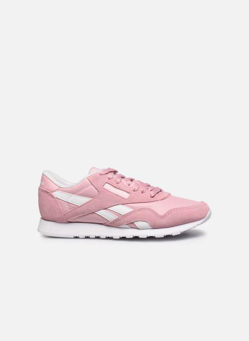 Sneakers Reebok Cl Nylon W Rosa immagine posteriore